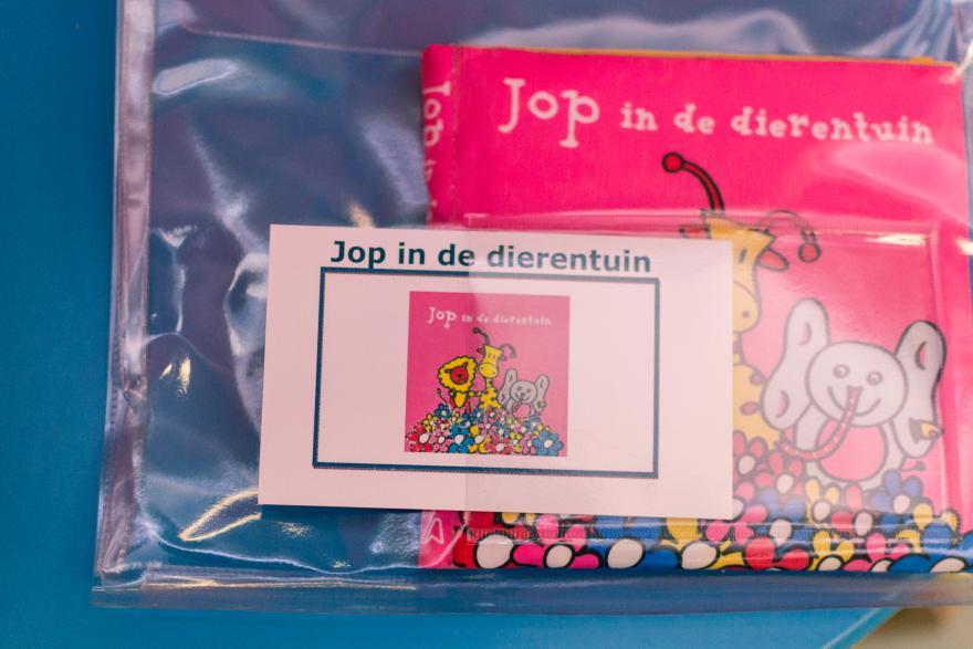 Boekstart-boekjes in plastic hoes bib Lille