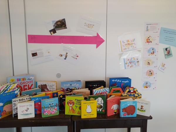 Nieuwe boeken in kinderdagverblijf Engelbewaarder - Izegem